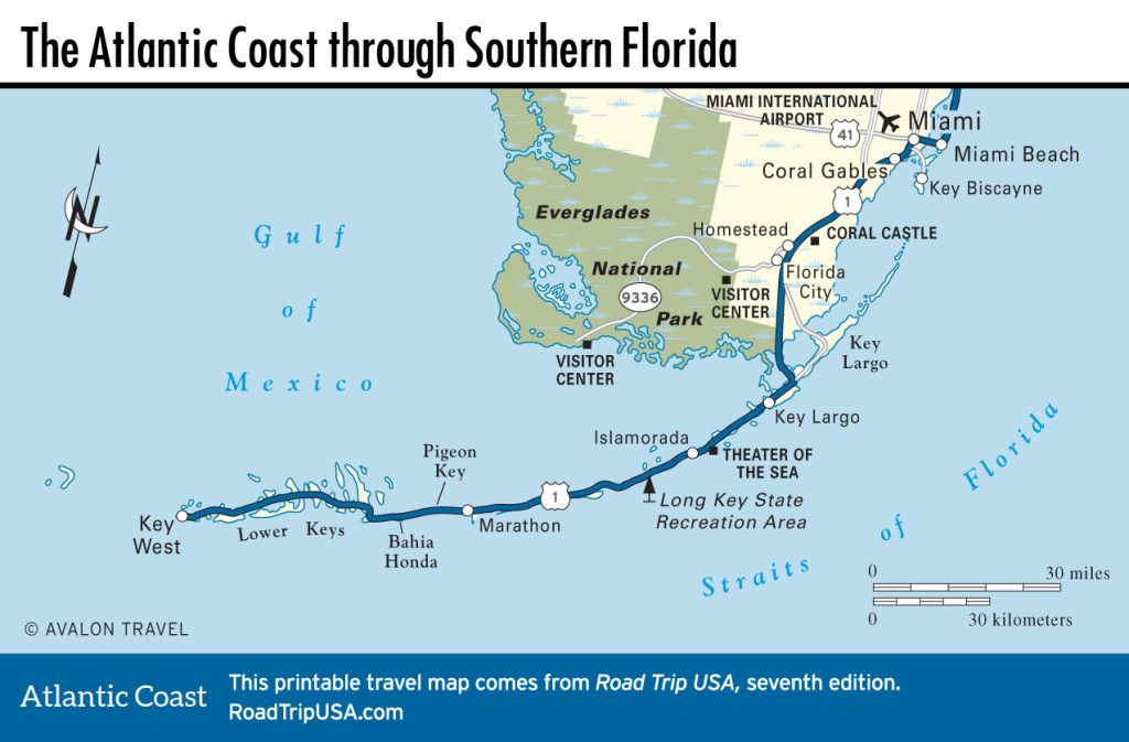 Atlantic Coast Florida Map.Atlantic Coast Florida Road Trip Road Trip Usa Road Trip