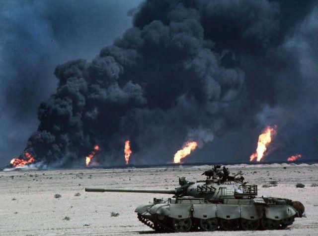The First Gulf War Tank War Tanks Military
