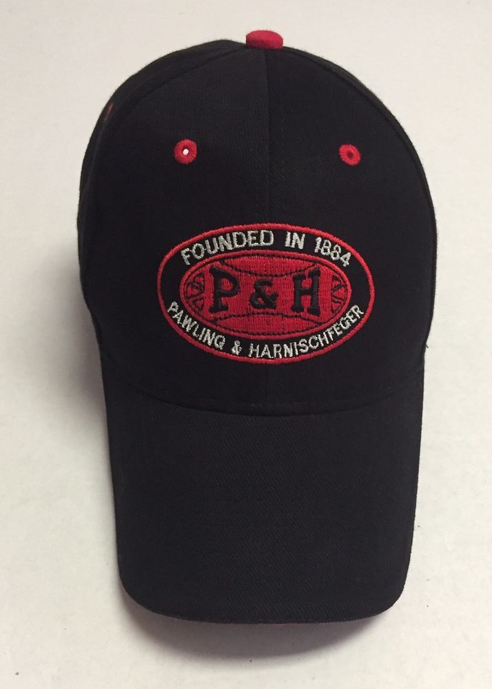 ba7ec2cea84 P H Hat Founded In 1884 Pawling   Harnischfeger Baseball Cap Mining  Equipment WI  Otto  BaseballCap