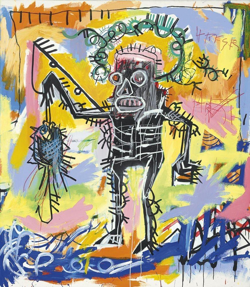 "Resultado de imagem para obra de Jean-Michel Basquiat ""Untitled"","