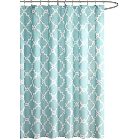 Bring elegant style to your master suite with this lovely shower curtain, showcasing a linked quatrefoil motif.Product: Shower cu...
