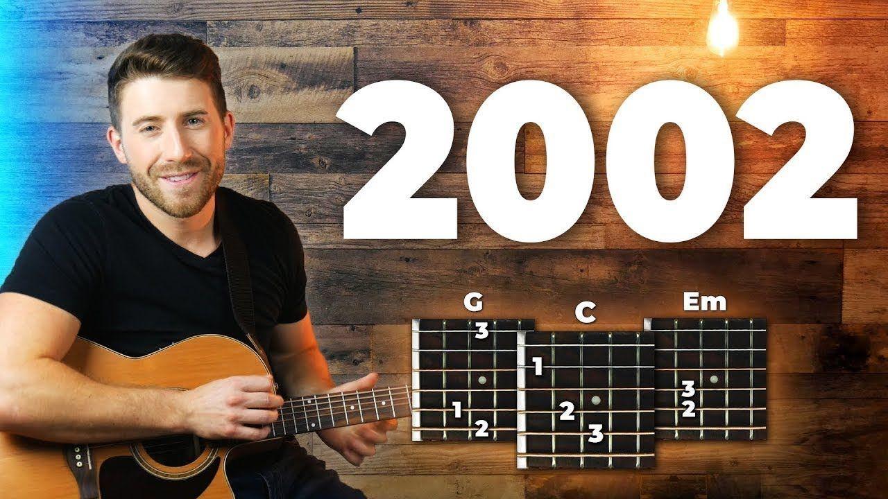 2002 Guitar Tutorial Easy Chords Guitar Lesson Anne Marie Guitar Tutorial Guitar Lessons Guitar Chords