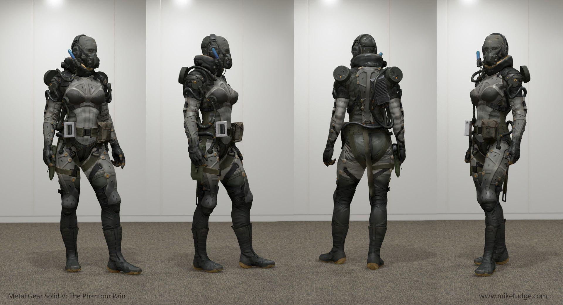 ArtStation - Metal Gear Solid V: The Phantom Pain - Snake