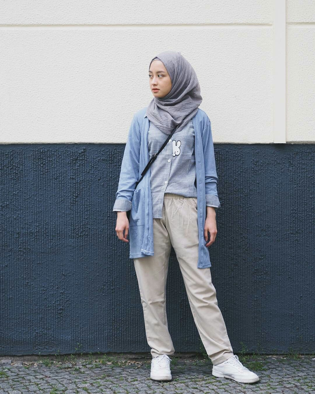 PINNED BY @MUSKAZJAHAN - | CASUAL HIJAB OUTFITS ...