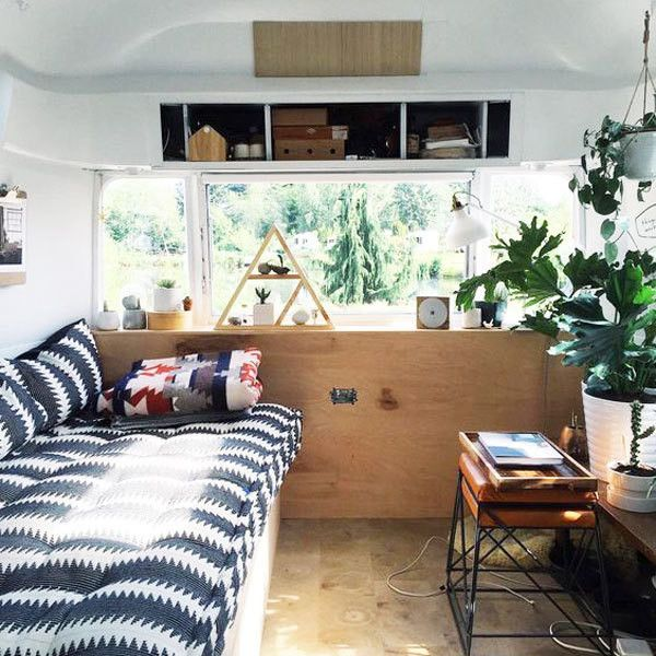 15 Airstreams From Pinterest Ideal For A Road Trip Airstream Living Caravan Interior Airstream Interior