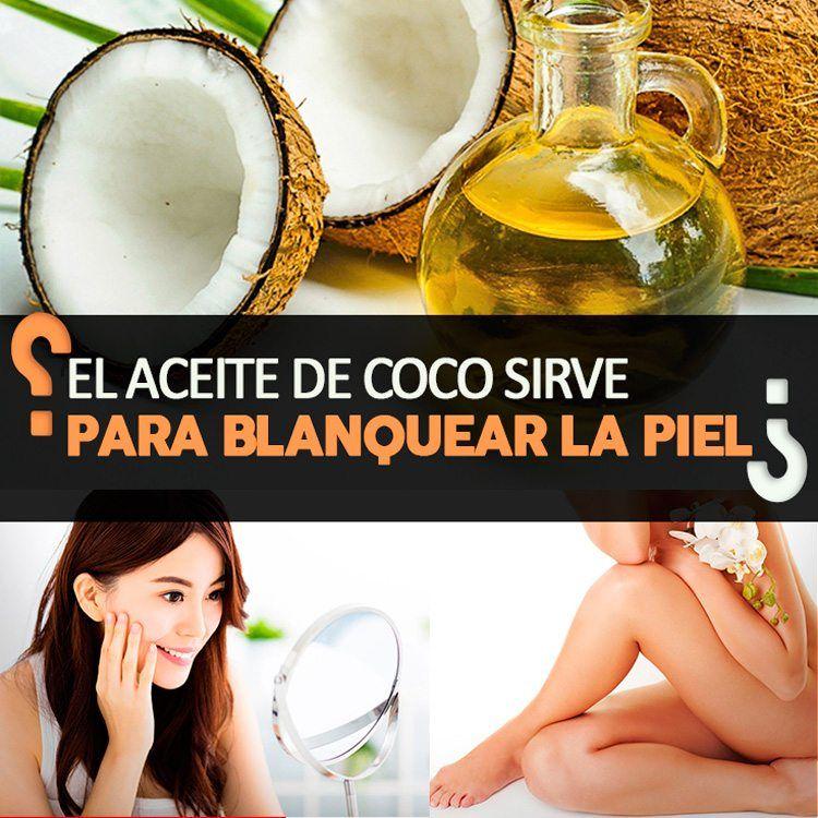 Como Usar El Aceite De Coco Para Aclarar La Piel Con Imagenes