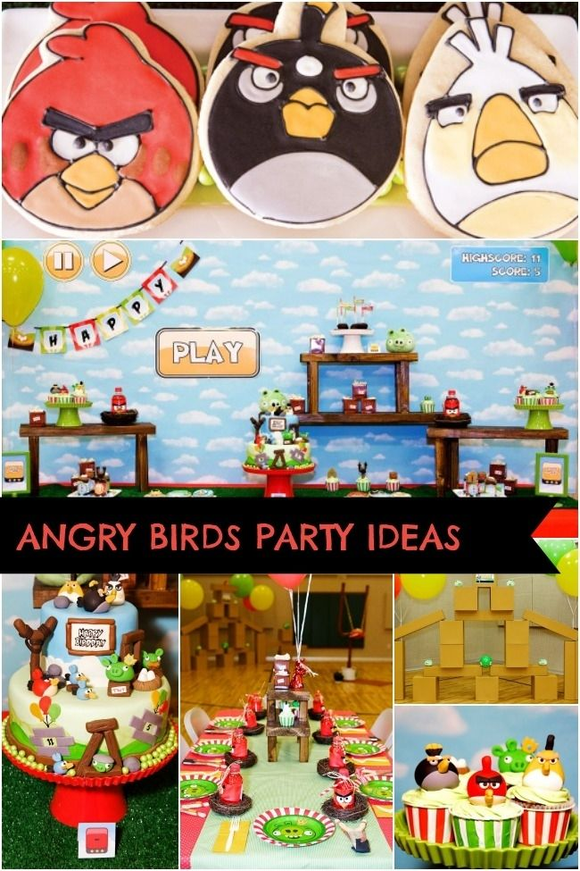 e742e72a0 Now Launching: An Angry Birds Inspired Boy's Birthday Party   angry ...