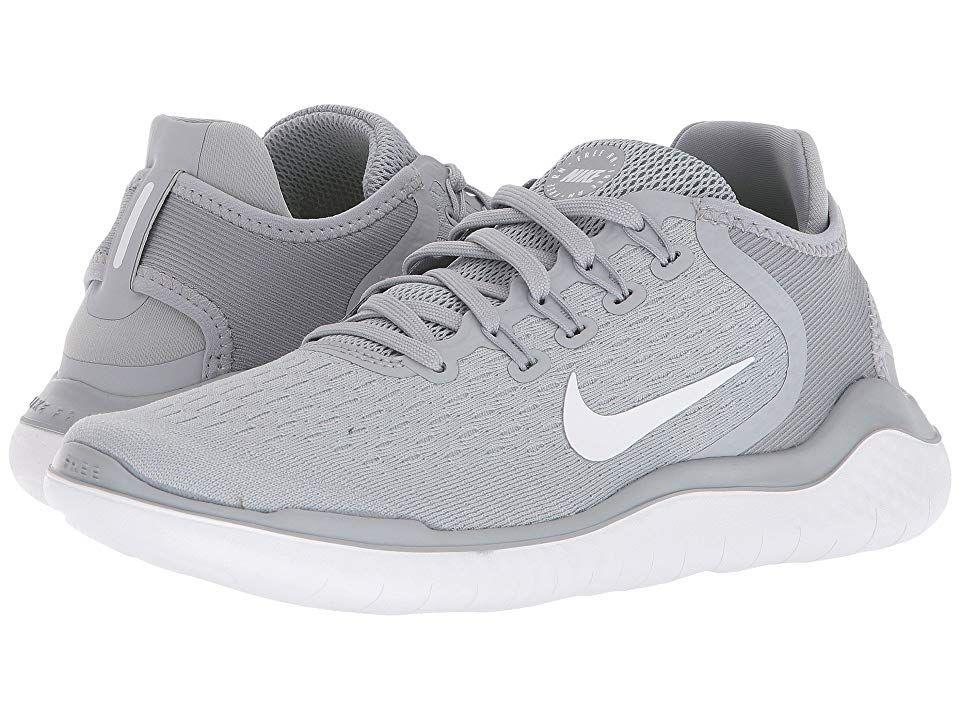 Nike Free Rn 2018 Women S Running Shoes Wolf Grey White Volt Nike Free Nike Free Rn Nike