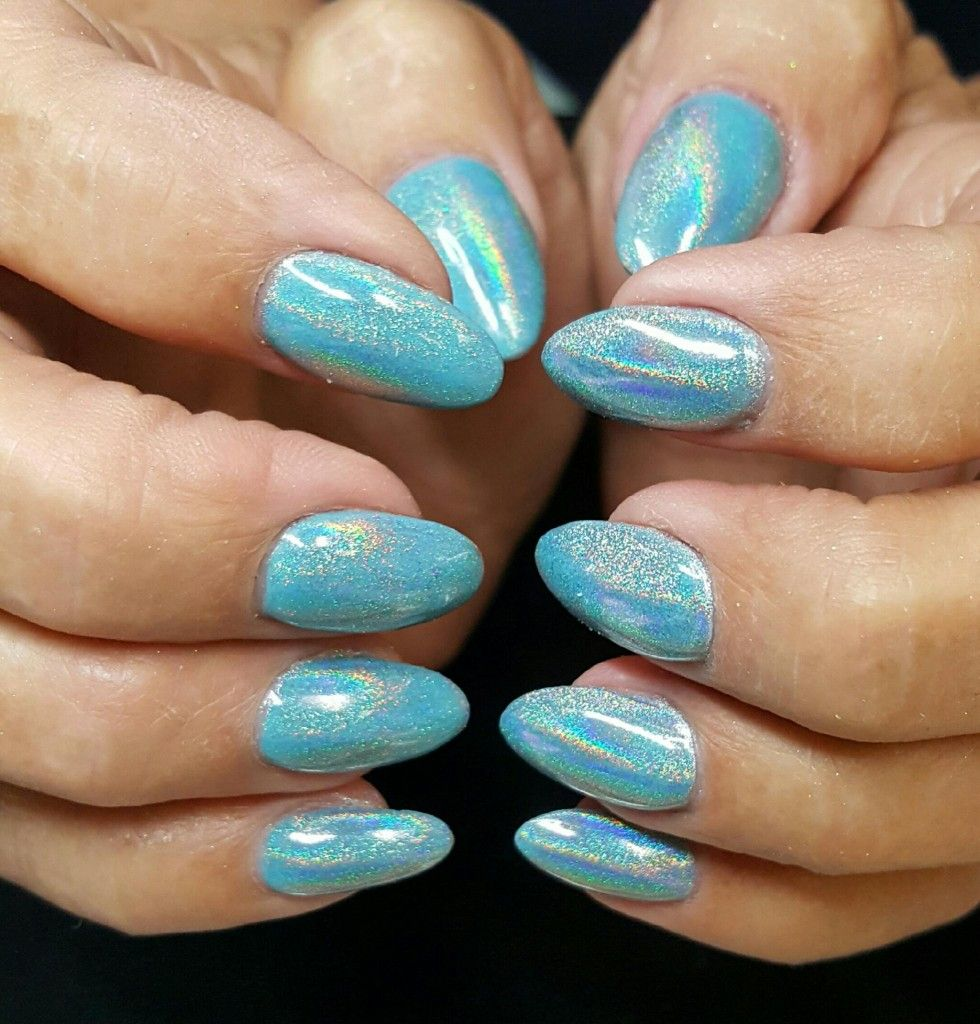 Kathys Holo Nails Nails By Seriously Nails Design Idea By Couture