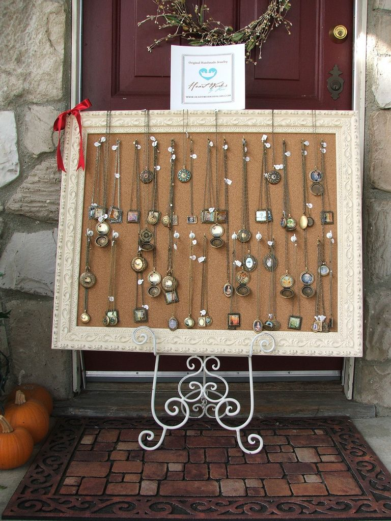jewelry display ideas for craft shows my craft fair jewelry frame display jewelry frames 7802