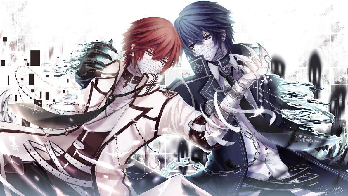 Twin Battle 2 By Pinlin On Deviantart Cute Anime Guys Anime Anime Lovers
