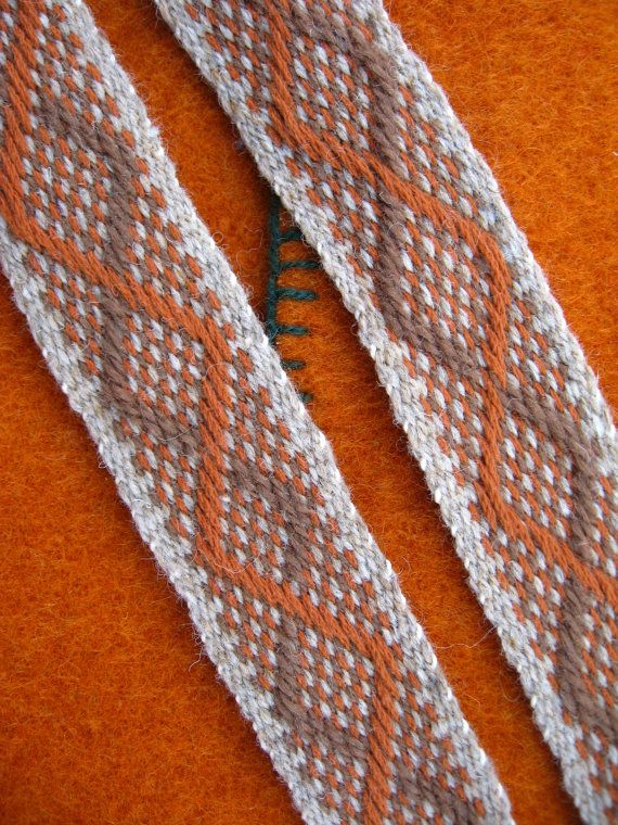Spiral Pattern Sash Woven for Historic Costume by iWeaveSashes, $60.00