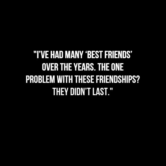 15 Sad Friendship Quotes