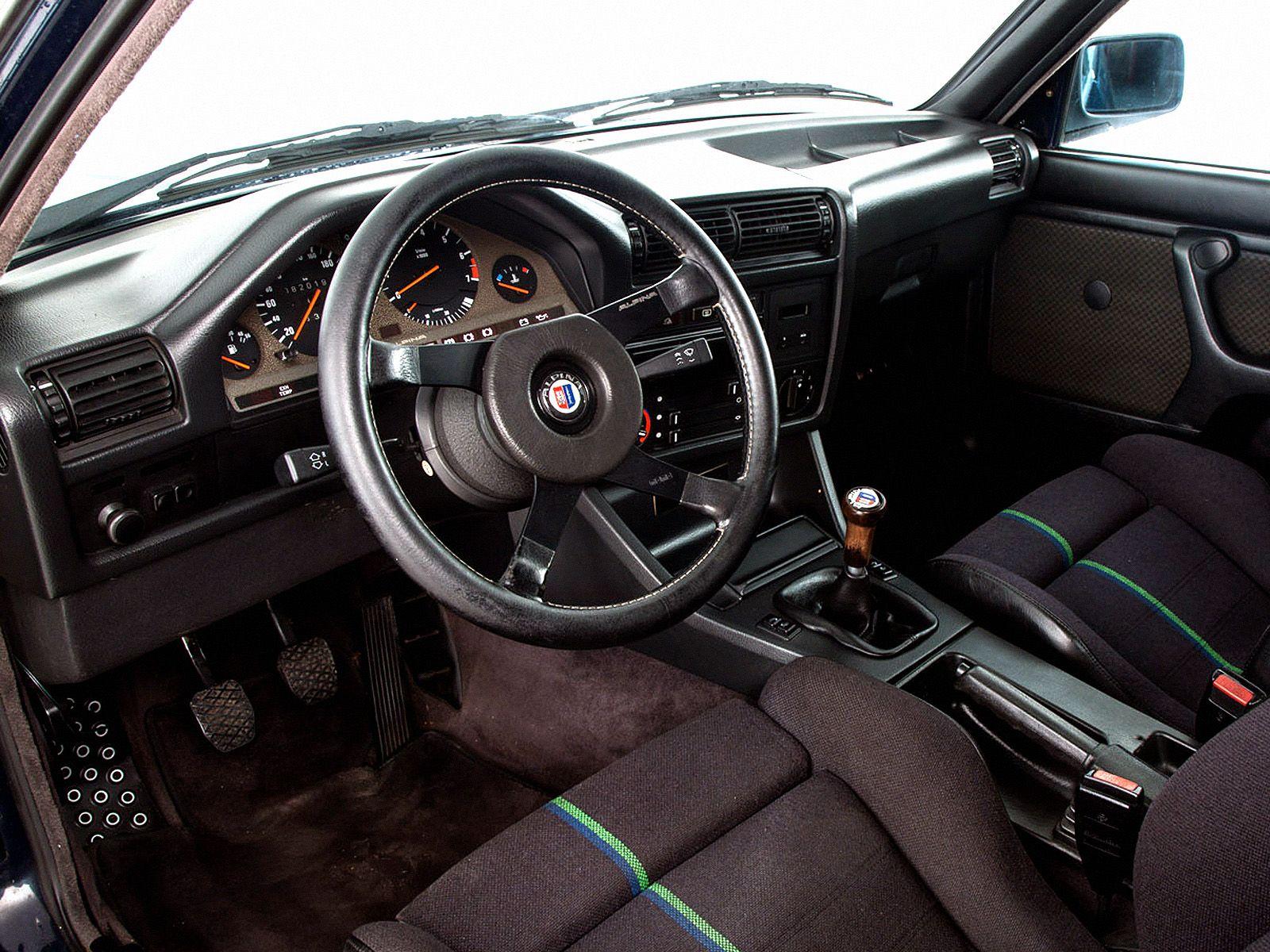 Interior Alpina C1 2 3 E30 08 1983 11 1985 Bmw E30 E30 Bmw