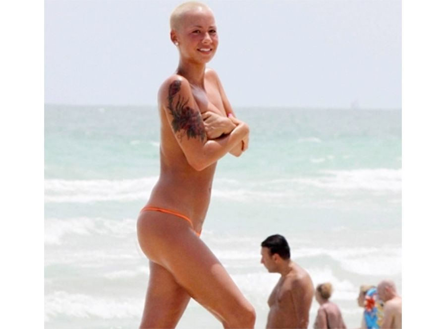 amber rose jeans