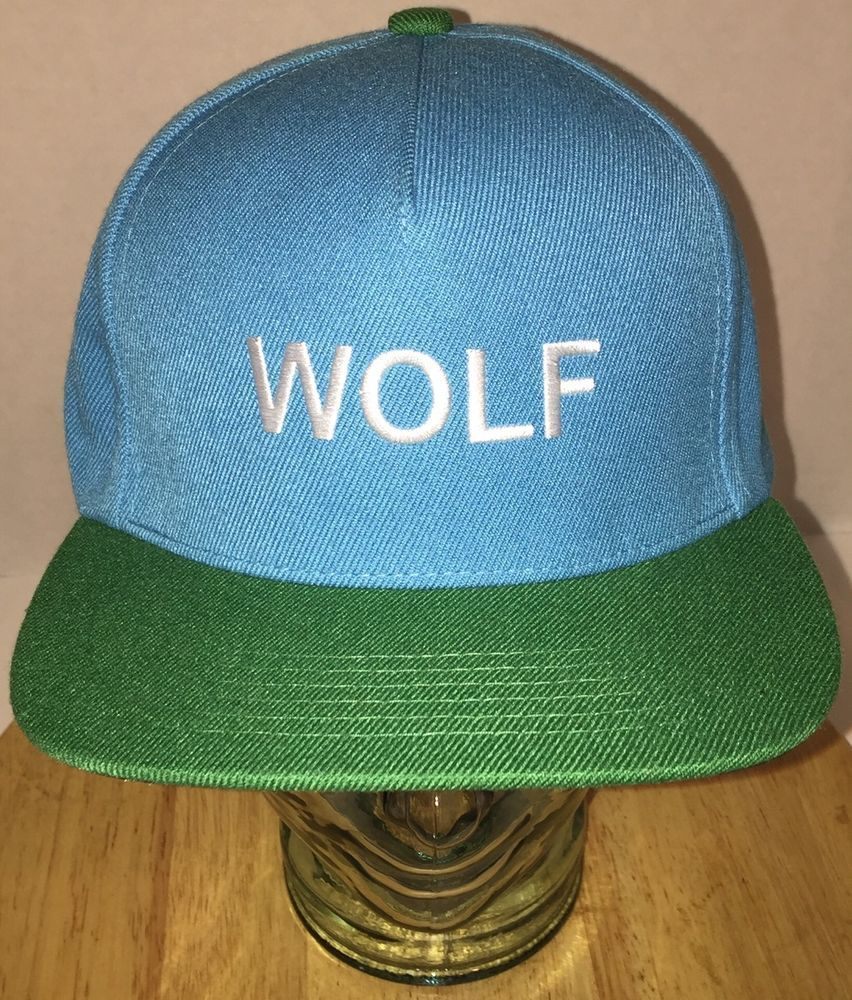 WOLF Tyler the Creator Golf Wang ODD FUTURE Hat Cap Snapback Hip Hop Rare  HTF  OFWGRTA  5PanelBaseballCap  TylerTheCreator  snapback  wolf  hiphop 414089cea209