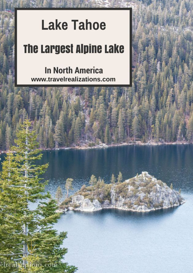 Lake Tahoe, the largest alpine lake in North America! - Travel...