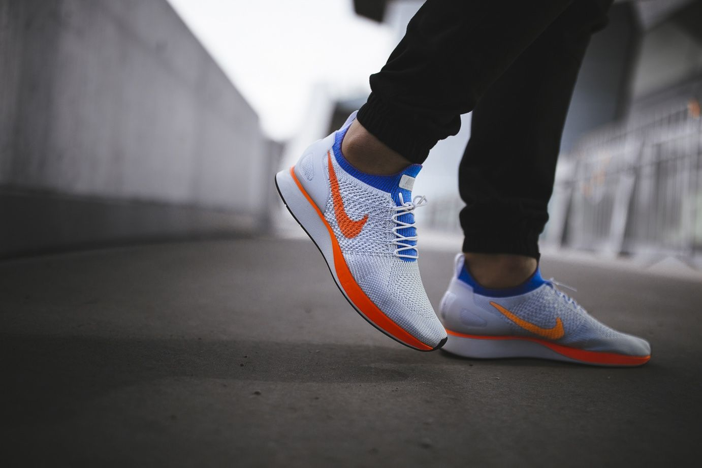 08329c7c57076 On-Foot  Nike Air Zoom Mariah Flyknit Racer  Hyper Crimson  - EU Kicks  Sneaker  Magazine