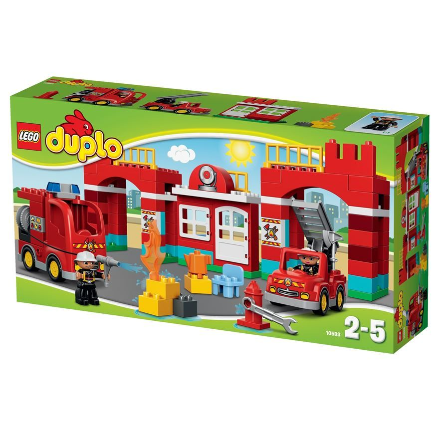 Add LEGO Duplo Fire Station 10593 to your LEGO Duplo Town ...
