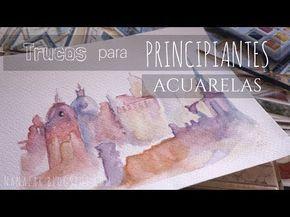 Acuarelas Para Principiantes I Aprende A Dibujar Plumas En 2
