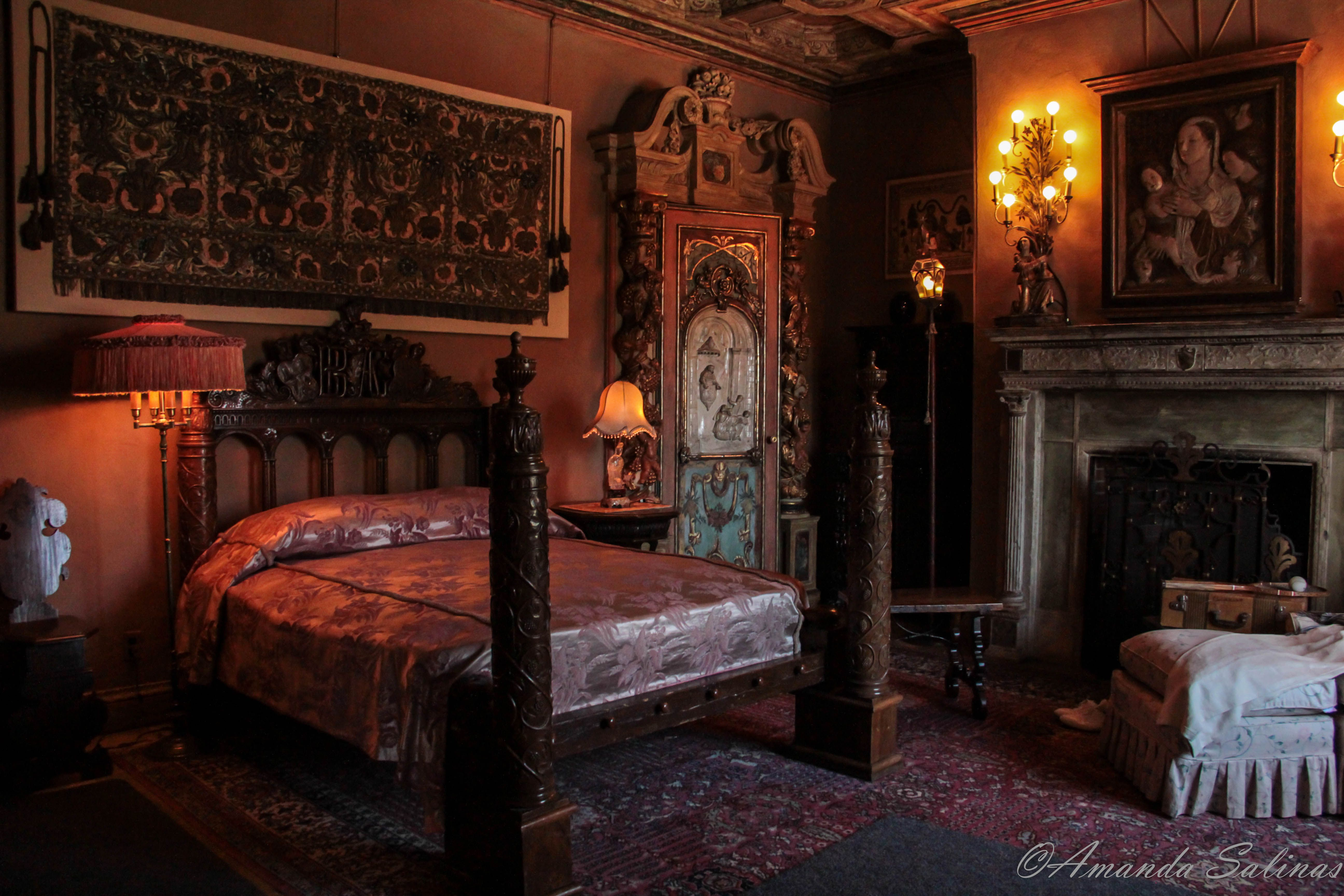Hearst Castle   The Bedrooms. Hearst Castle   The Bedrooms   Castle bedroom  Bedrooms and Window