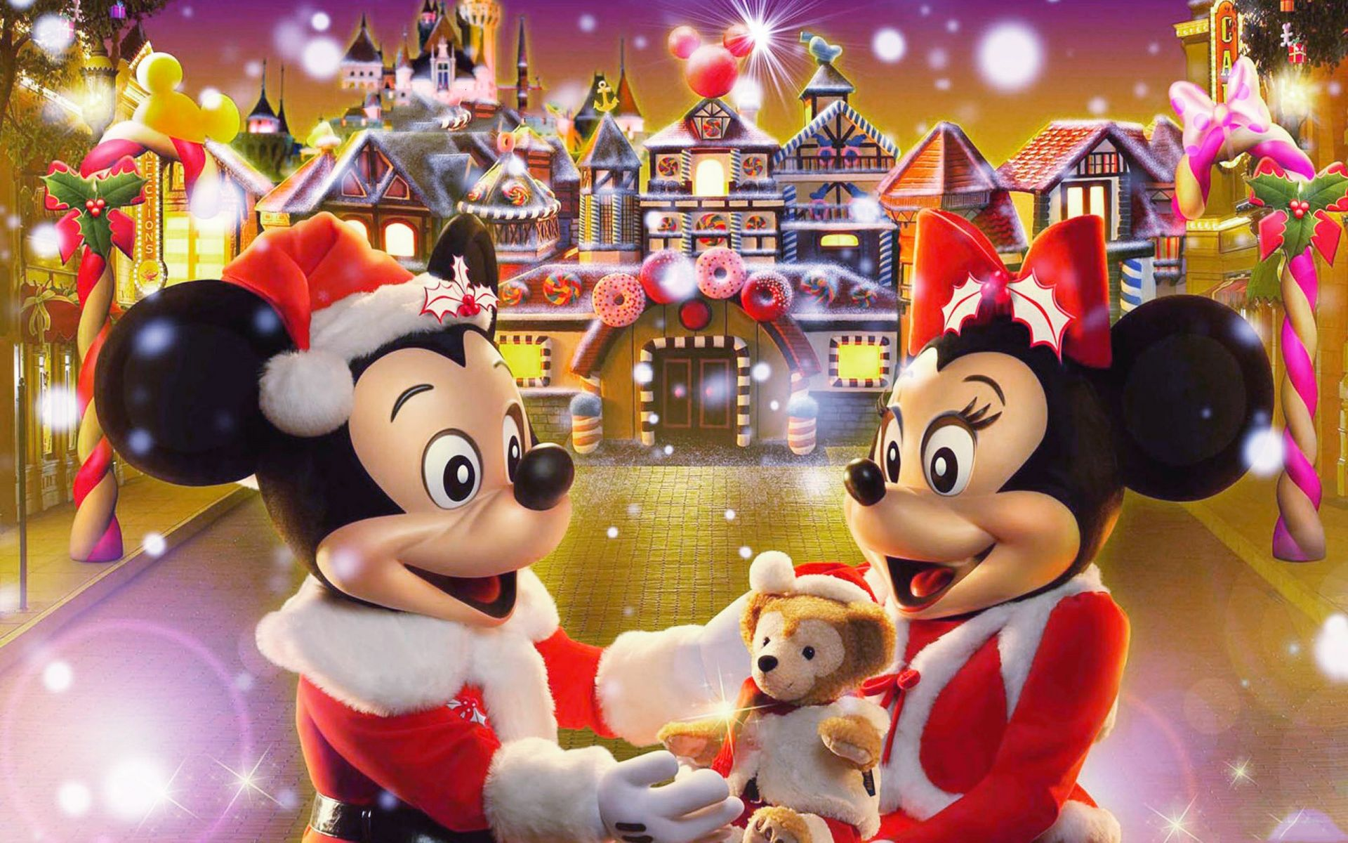 Walt Disney Christmas Wallpaper.Pin On Disney Christmas Wallpaper