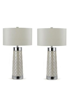Class trellis table lamps set of 2 by candice olson on gilt home trellis table lamps set of 2 by candice olson on gilt home aloadofball Choice Image