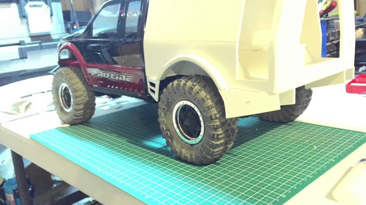 Custom axial scx10 with proline f250 body | AXIAL Scx10/Inspirations ...