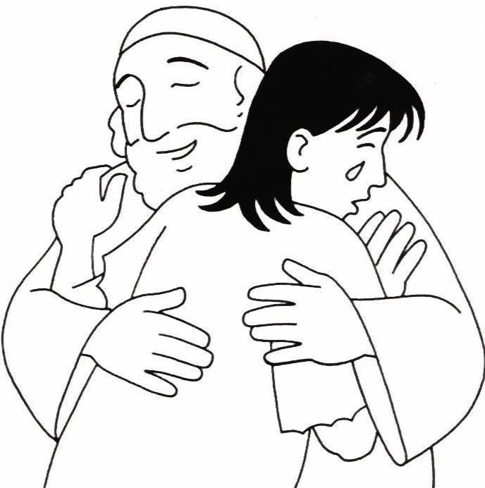Prodigal Son Coloring Page Parable Of Prodigal Son The Lost Son