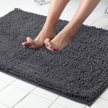 Color Microfiber Memory Foam Non Slip Bath Mat Bathroom Carpet Mat