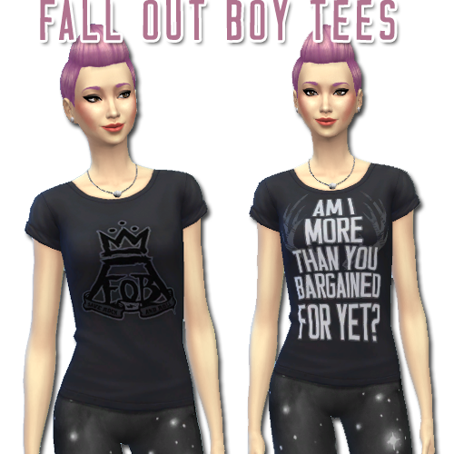 ts4 band tees | Tumblr | music | Sims 4 mods, Sims 4 cc finds, Sims cc