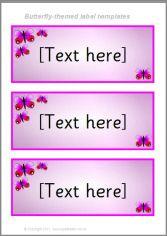 Sparklebox Labels