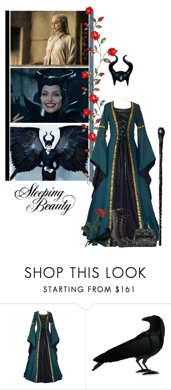 """""""BOTSG Round  2: Antagonist - The 13th Fairy"""" by fashionqueen76 ❤ liked on Polyvore featuring Louis Vuitton, ibride and BOTSG03"""
