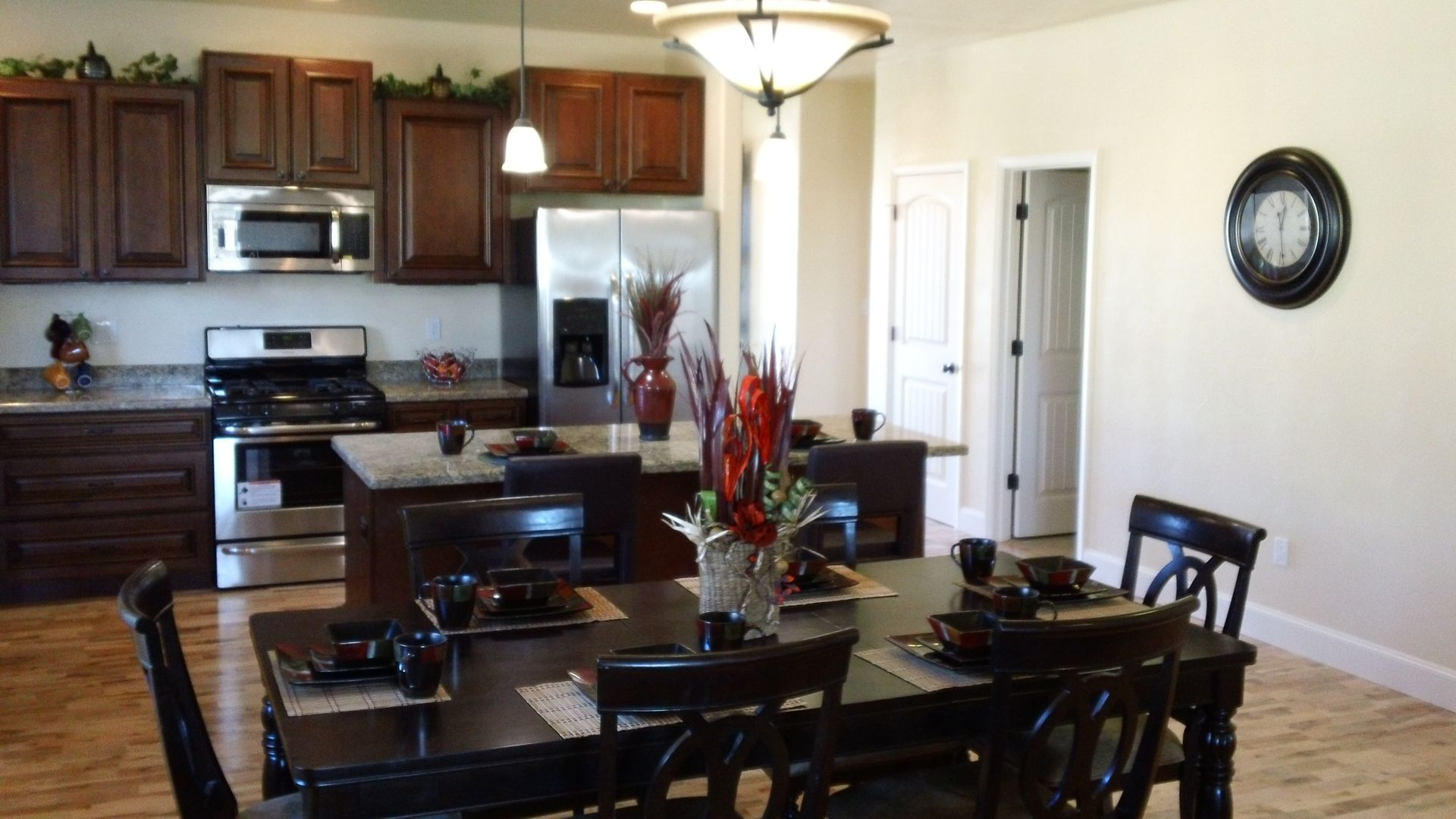 model home kitchens   Model Home Now Open — Centennial Village in ...