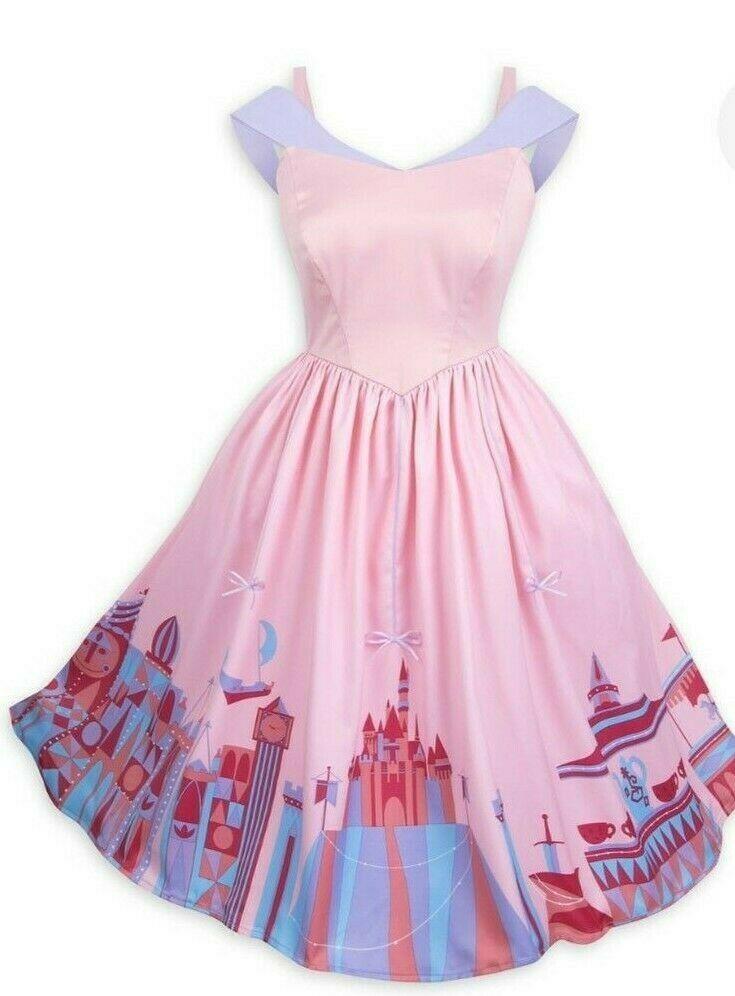 Xl Size Nwt Disney Parks Dress Shop Pink Fantasyland Dress