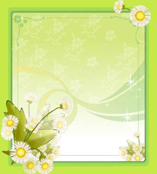 Flower Frame Ppt Backgrounds, Flower Frame Powerpoint