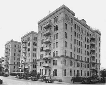 Langham Apartments 715 S Normandie Ave Los Angeles 1936 Los Angeles Examiner Collection 1920 1961 Vintage Los Angeles Los Angeles Angel