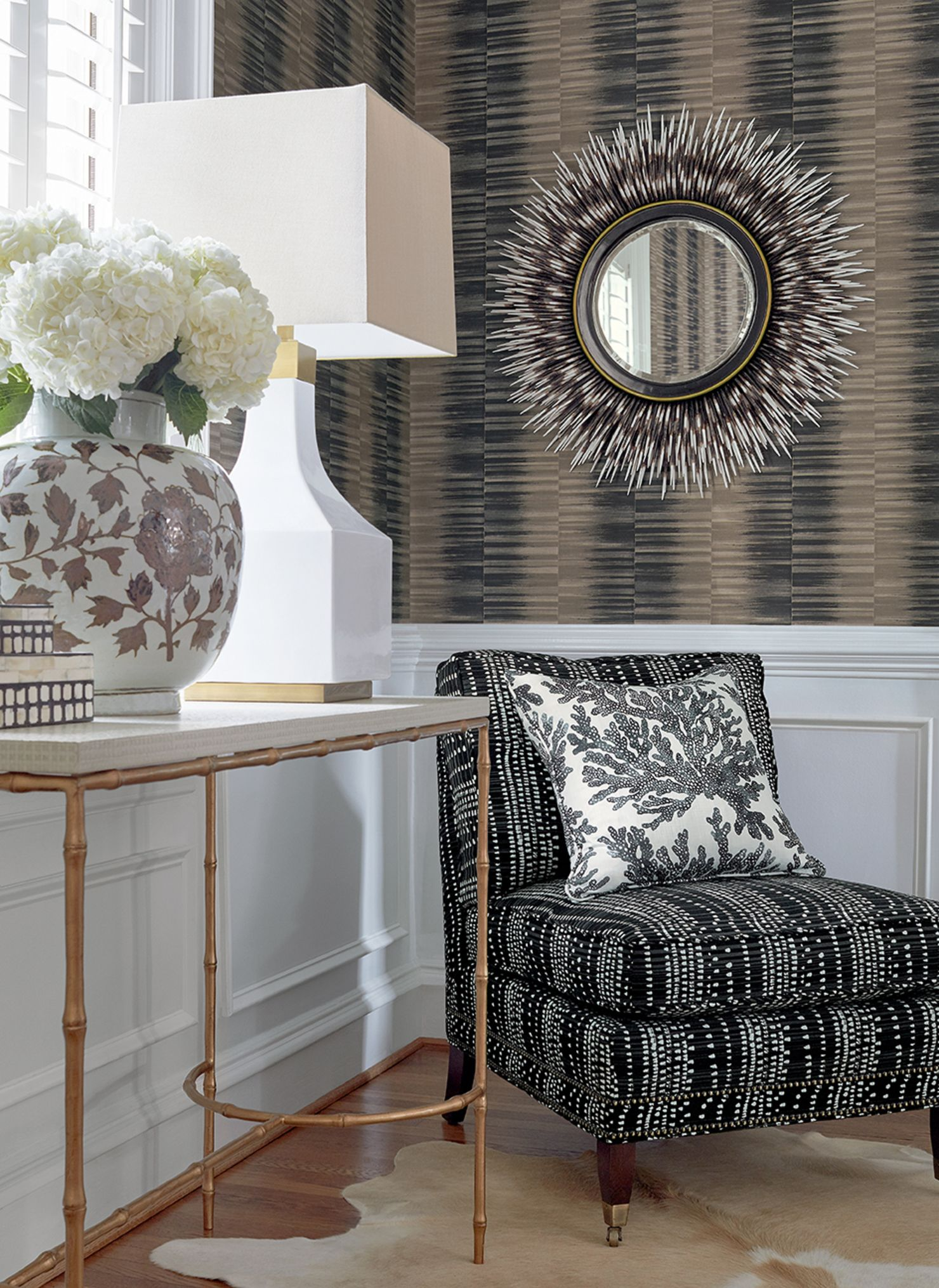 Thibaut Wallpapers Transitional decor