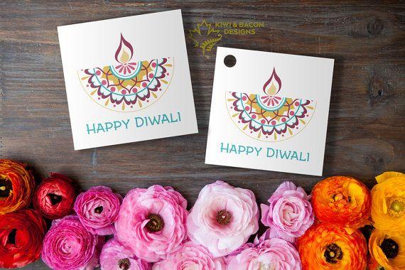 Diwali Printable Tags Diya Mandala By Kiwiandbacon For Your Food Giveaways Gifts Deepavali Greetings Diwali Celebration Diwali Diwali Party