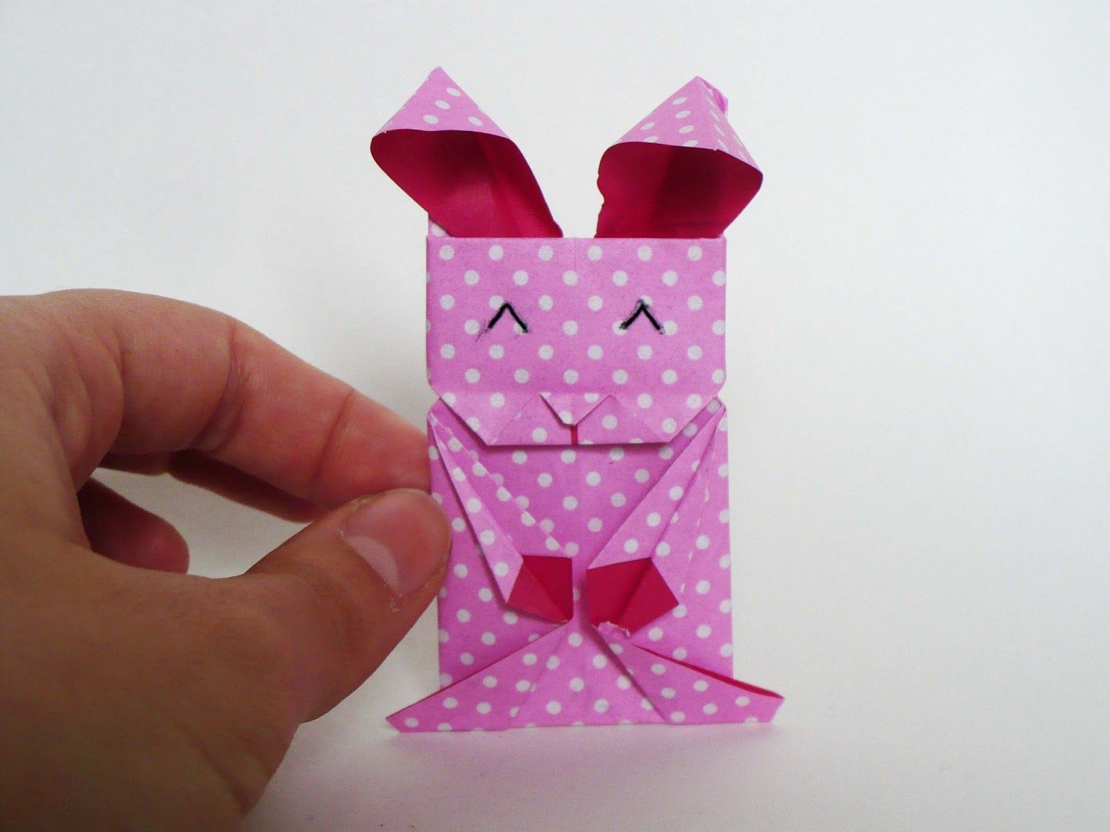 8 cute and quite easy origami rabbits tutorials for easter ... - photo#40
