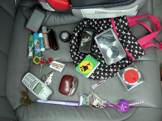 This morning while on the way to Montessori, Milena informed she had my iPod in her purse. Apparently, that is not all that was in the bag. I was just talking to my wife, who informed me that she took my Wii controller out of Milena's purse earlier t Purses Every Women Should Have: http://mastermindmarketspro.com