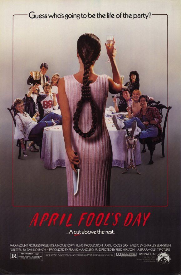April Fools Day 11x17 Movie Poster (1986) | MOVIE POSTERS SCI FI