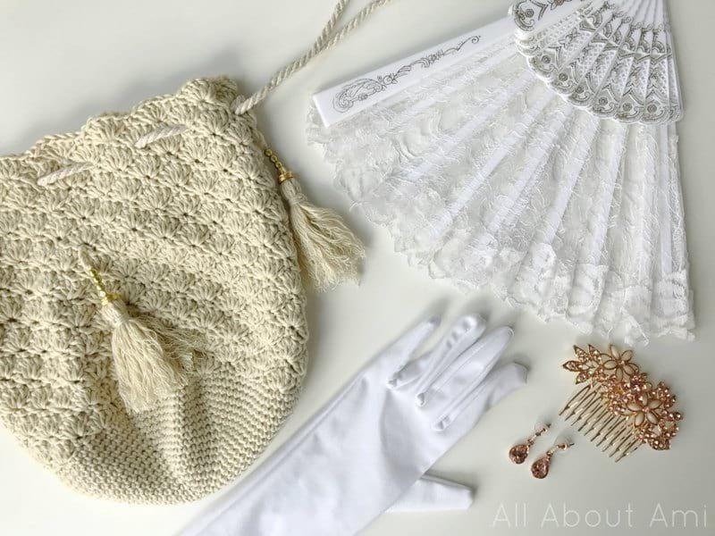 Crochet Regency Reticule (All About Ami) | Pinterest | Bolsos