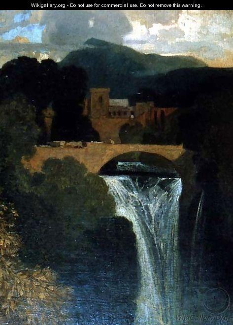 The Waterfall - John Sell Cotman