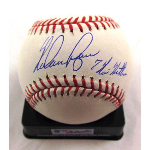 71e319e1ed2 MLBPAA Houston Astros Nolan Ryan Autographed Baseball with