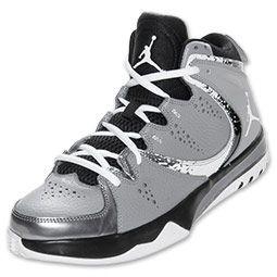 cheap for discount cafc5 13e5c Men s Jordan Phase 23 II Basketball Shoes   FinishLine.com   Silver Black  White