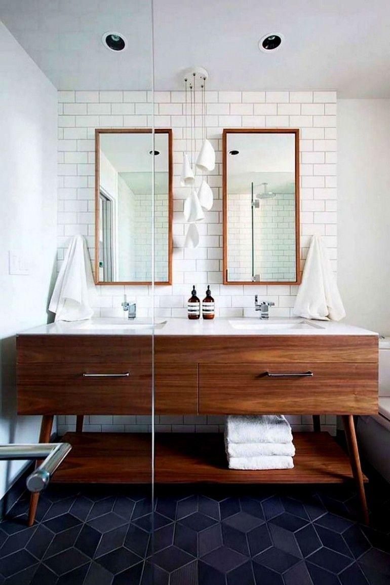 Mid Century Modern Bathroom Vanity Ideas | Modern bathroom ...