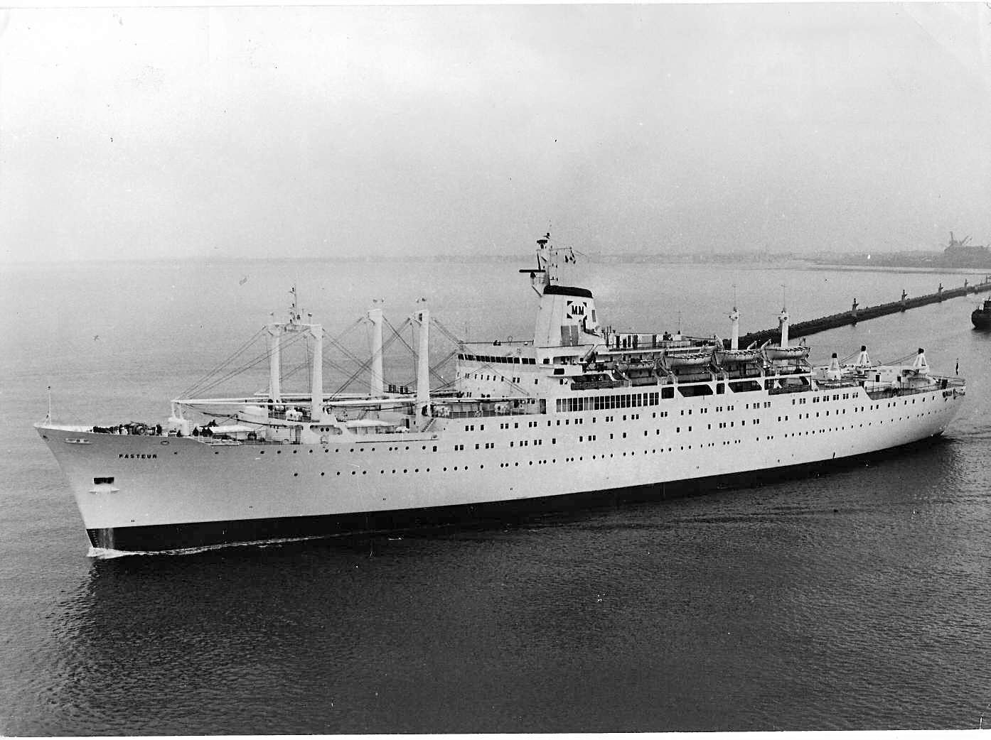 Ss Pasteur An Interesting Ship With Several Lives Pasteur 1939