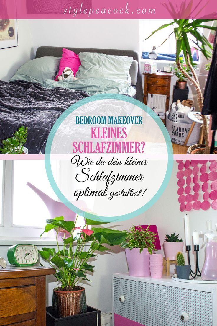 BEDROOM MAKEOVER | KLEINES SCHLAFZIMMER OPTIMAL NUTZEN | Stylepeacock | Happy Boho Interior & Lifestyle