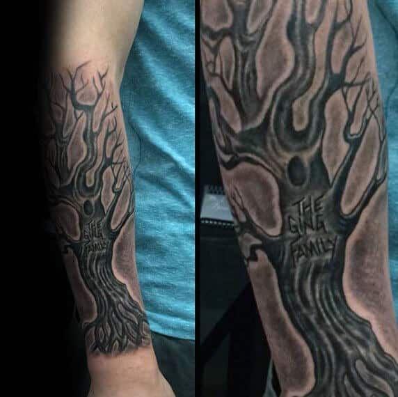 Family Tree Tattoos For Men Tattoos Pinterest Tattoos Tattoos